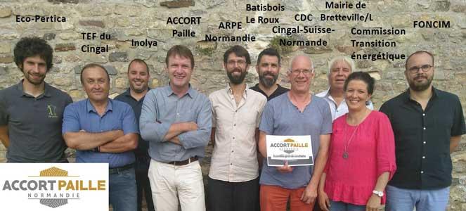 Un nouvel outil pour le développement de la filière construction paille en Normandie : l'agence ACCORT-Paille Normandie