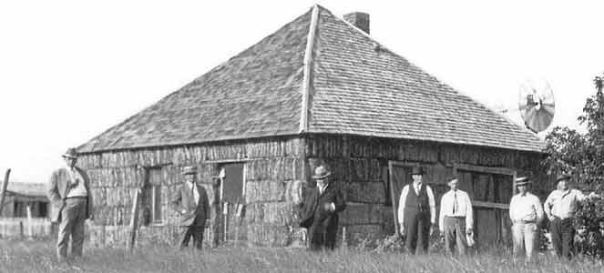 Sandhills, Nebraska : le berceau de la construction en botte de paille